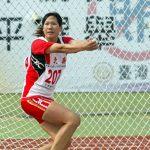 本校校友黃芝鳳941016打破全國女子鏈球全國紀錄61.54米_resized